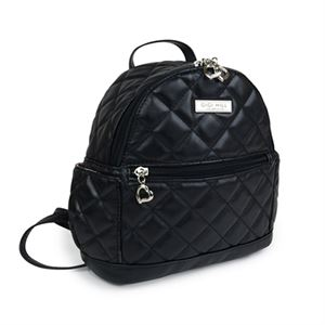 Picture of Lennon Quilted Black Backpack